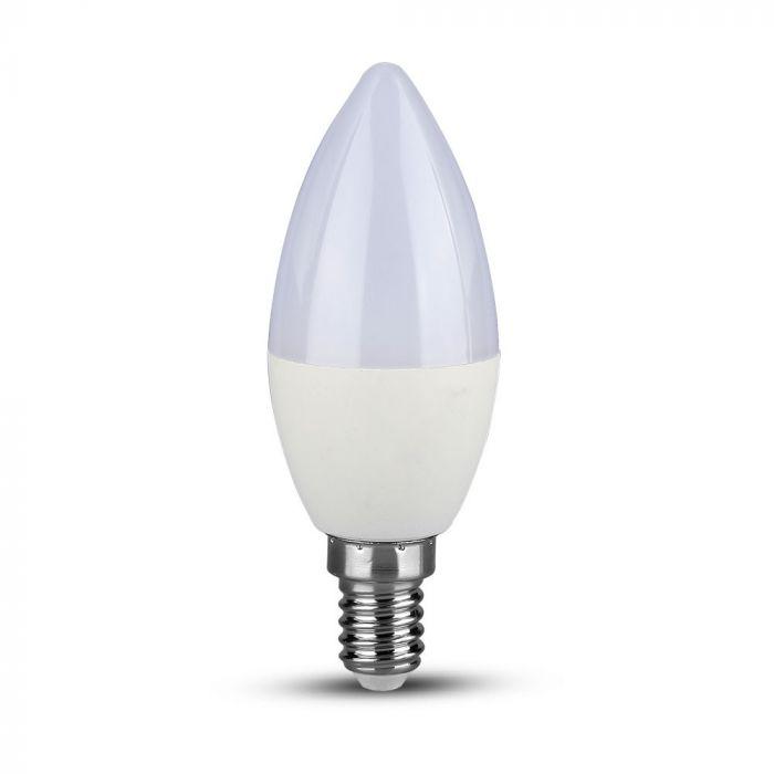 LED dimabilna sijalica E14 5,5W 3000K sveća V-TAC